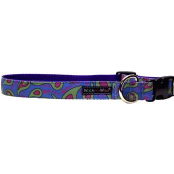 Walk-e-Woo Blue Splash Collar