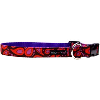 Walk-e-Woo Pink Splash Collar
